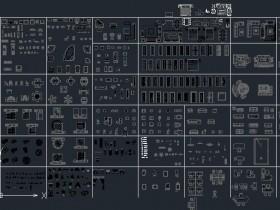 常用CAD图库(装饰类单图层)图纸下载
