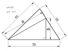 画出三角形并求出AB值