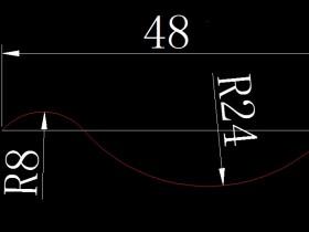 画出圆弧并求出圆弧长度