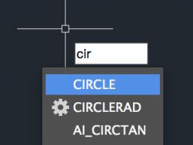 CAD如何画圆,快捷键是什么?