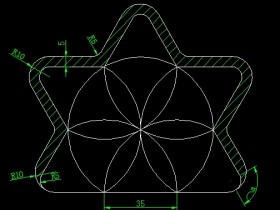 画图并求出面积和弧长