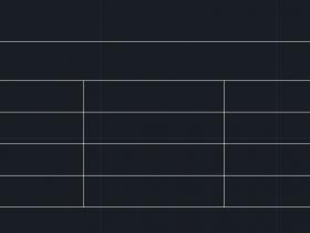 CAD怎么合并单元格
