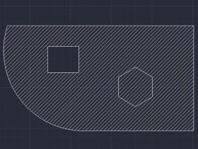 CAD如何修剪图案填充