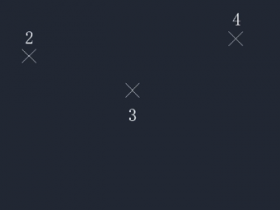 CAD怎么画样条曲线(开放和关闭样条曲线的画法)