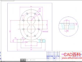 CAD怎么打印图纸(在图纸空间打印出图的方法)