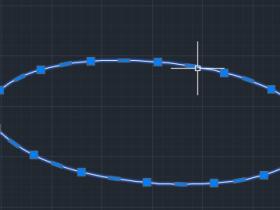 CAD绘制的椭圆显示为多段线怎么办