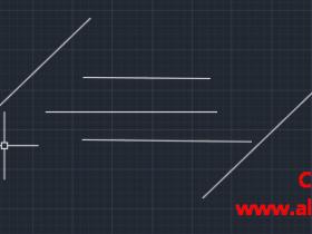 CAD延伸快捷键命令(教你如何使用窗交方式延伸全部对象)