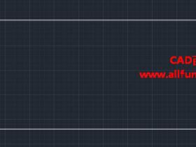 CAD如何绘制矩形中心线(水平中心线&垂直中心线)