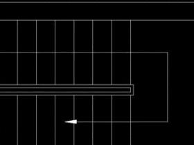CAD怎么画楼梯平面图