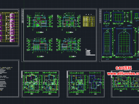7000多套建筑设计图纸和效果图下载