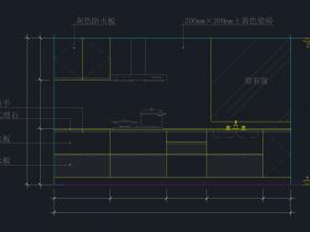 厨房一系列CAD图纸免费下载