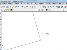CAD填充时提示不闭合