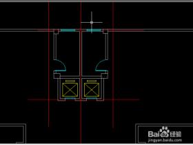 天正CAD怎么画四坡屋顶