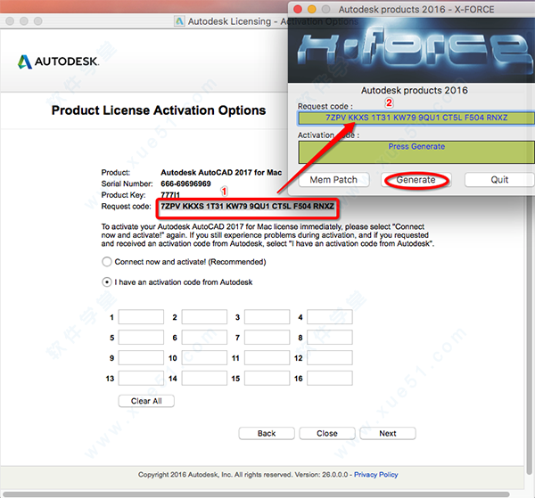 AutoCAD2018 for Mac中文版免费下载 附注册机/激活码及破解教程