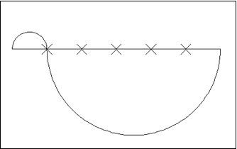 使用定数等分方法画圆弧