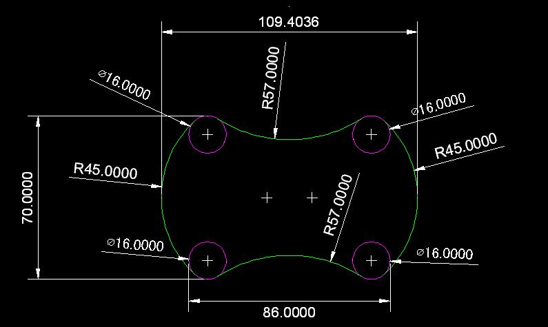 根据条件绘图并求出长度A