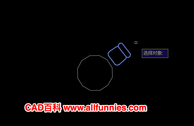 CAD旋转复制怎么操作,快捷键命令是什么