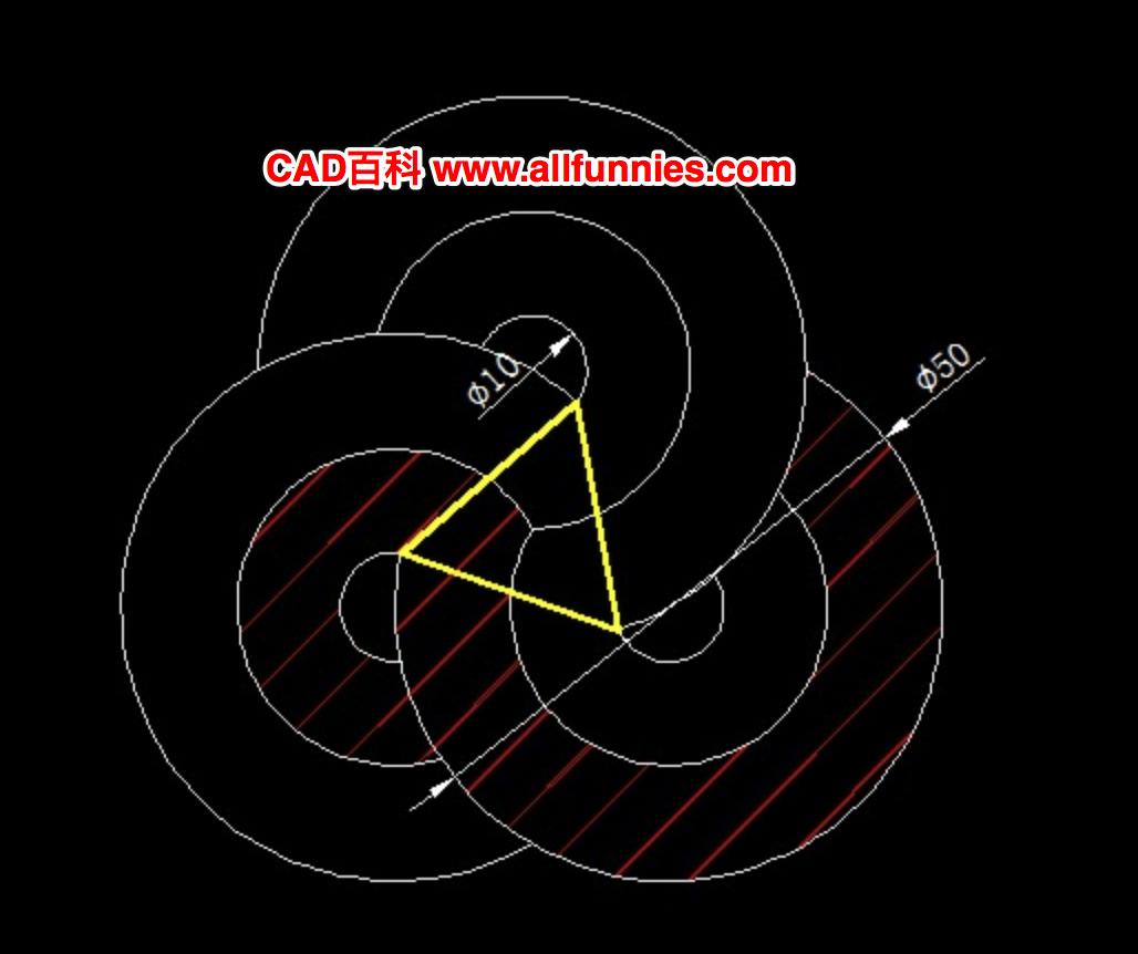 绘图并求出三角形周长和阴影面积
