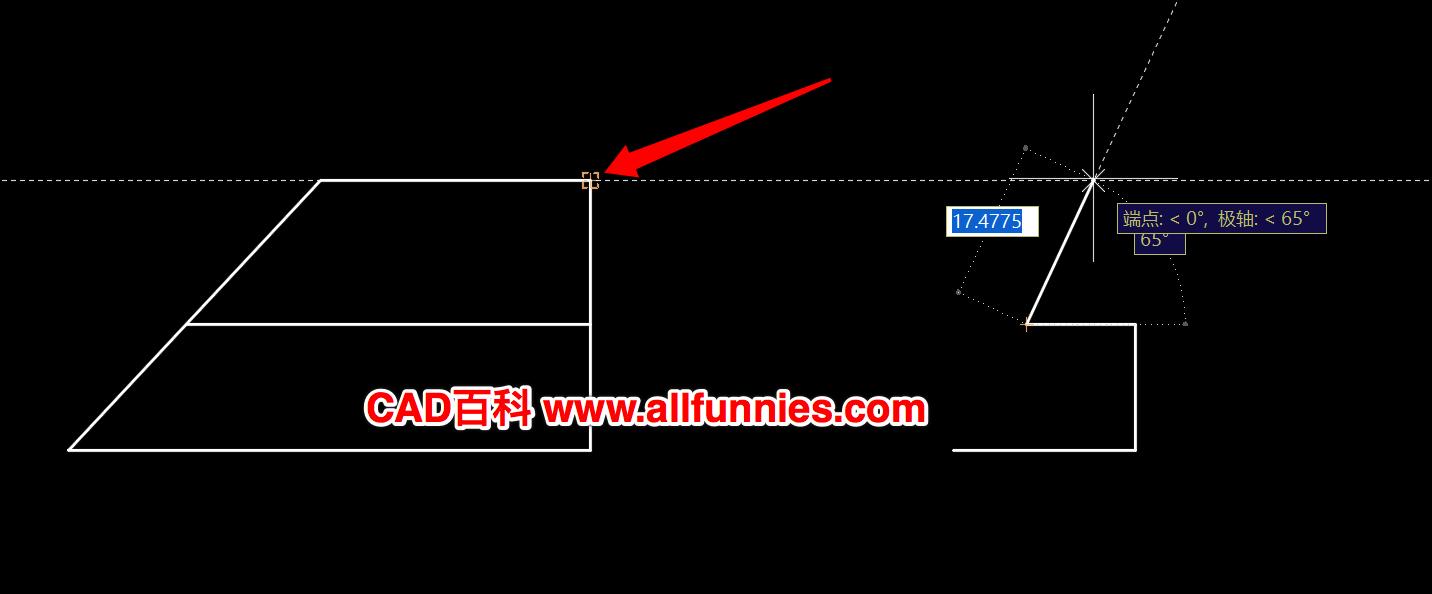CAD对象追踪怎么用,快捷键命令是什么