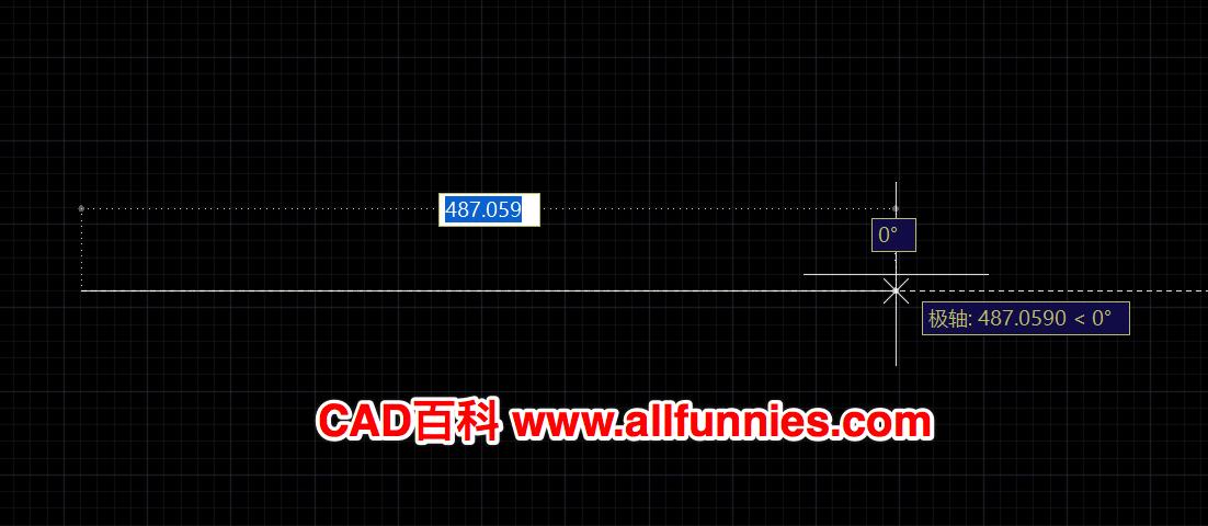 CAD画直线的时候长度不显示怎么办