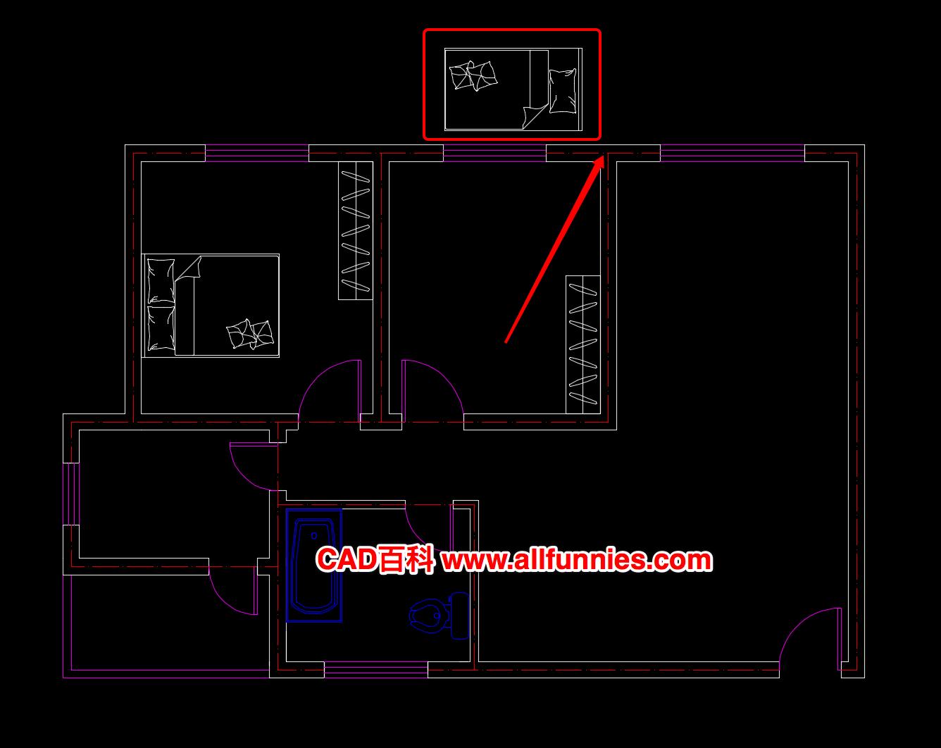 CAD移动命令快捷键及使用方法