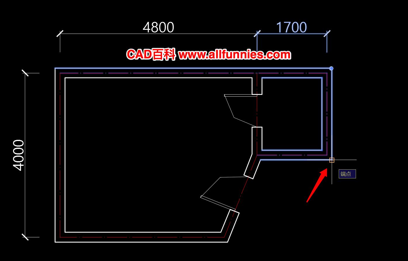 CAD拉伸命令如何使用,快捷键STRETCH(S)