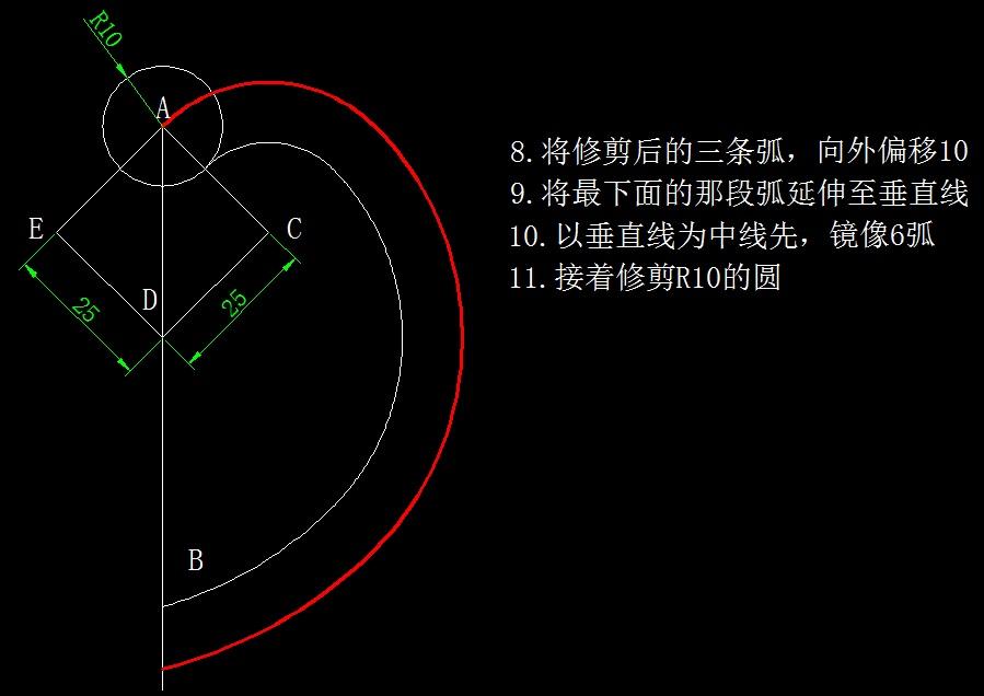 画图并求出指定区域的面积