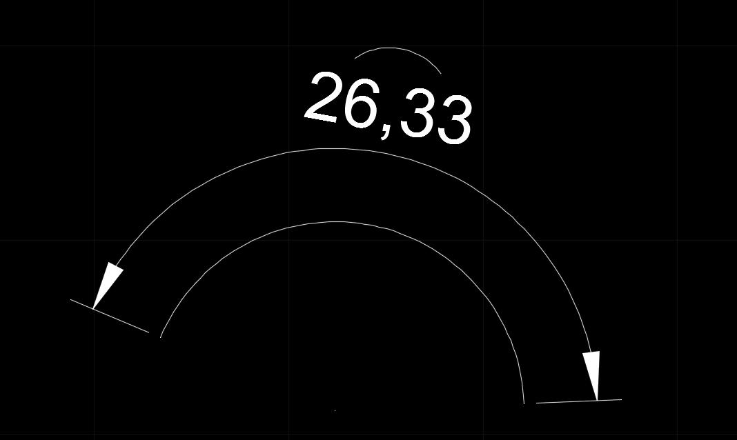 CAD圆弧标注的显示方式如何修改?