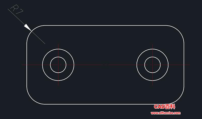 CAD半径标注快捷键,如何标注半径