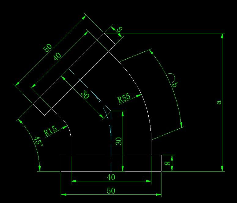 画图并求出弧长和指定长度