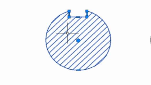 CAD如何重新生成图案填充边界