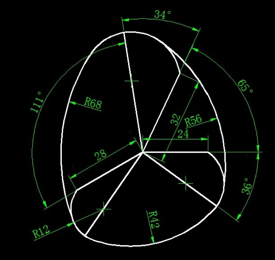 画图并求面积(圆的画法、面积计算练习)