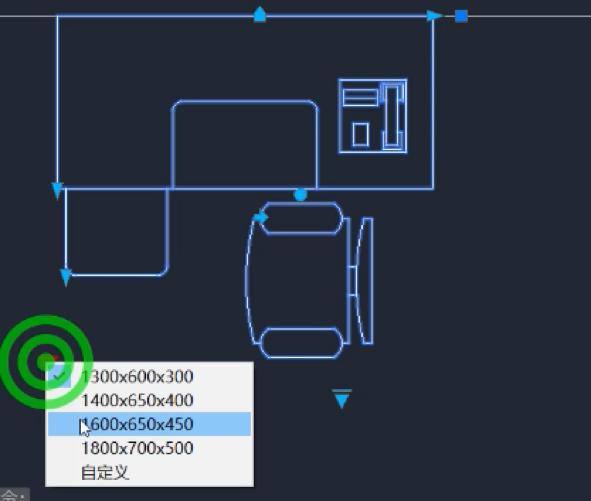 CAD动态块几种特性的使用方法
