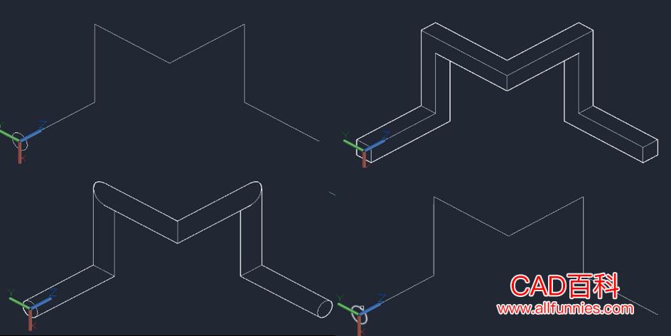 CAD怎么通过拉伸命令创建三维实体