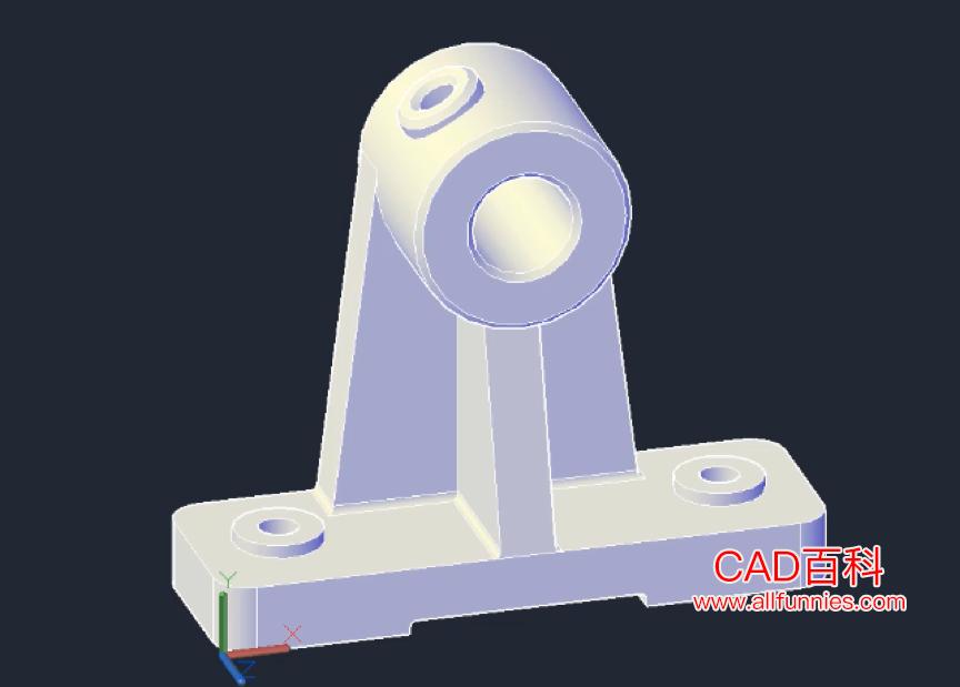 CAD如何观察三维模型(两种常用的观察三维模型方法)