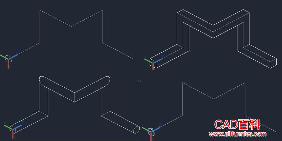 CAD平面图怎么变成三维图(4种通过平面图创建三维图的方法)