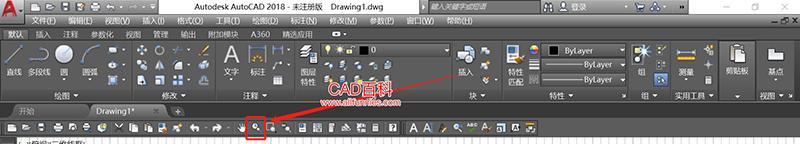 CAD缩放快捷键命令(三种启用缩放命令的方法)