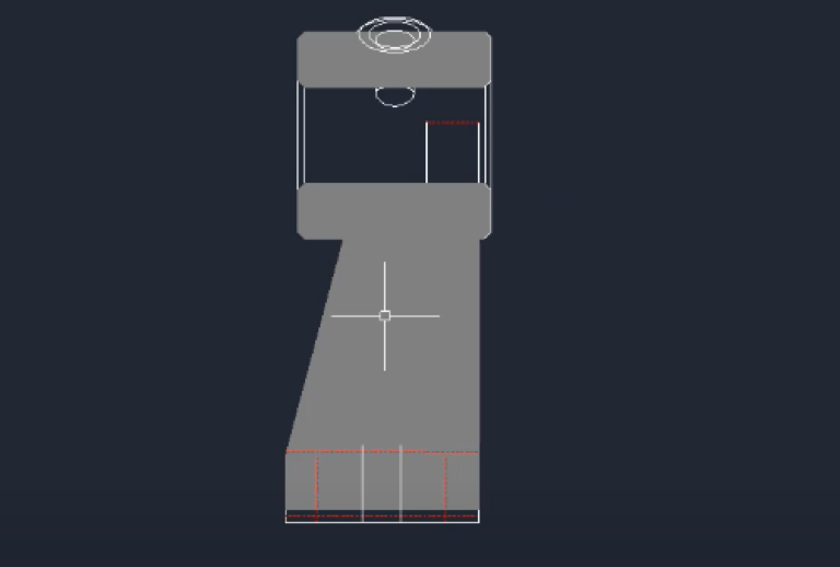 CAD怎么剖切三维实体(提取剖切面的方法)