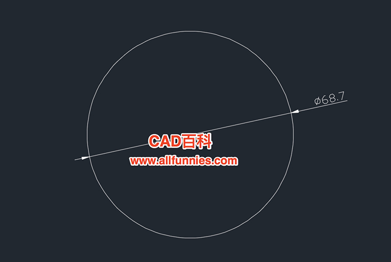 CAD直径标注文字怎么设置成水平