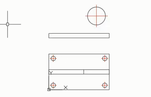 CAD简单二维绘图命令综合演练(教你支架的画法步骤)