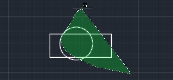 CAD框选变成了套索模式怎么办(如何把框选调整为矩形选择框)