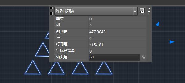 CAD阵列快捷键命令(如何设置带角度的阵列)