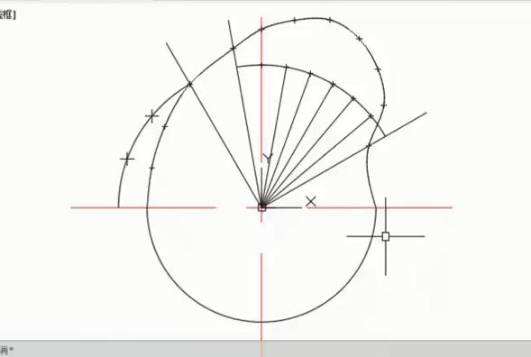 CAD样条曲线快捷键命令(教你如何绘制凸轮轮廓线)