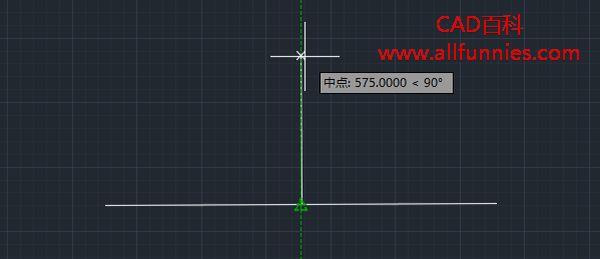CAD递延垂足和递延切点的概念与用法