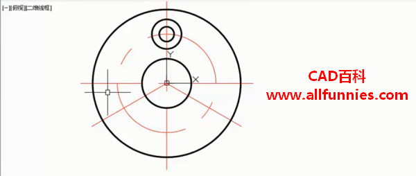 CAD夹点编辑(钳夹)命令功能(教你如何绘制连接盘)