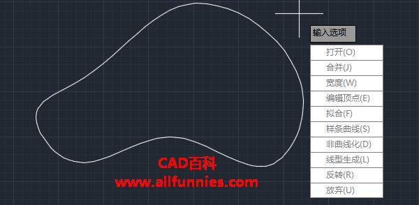 CAD怎么把样条曲线转换成多段线