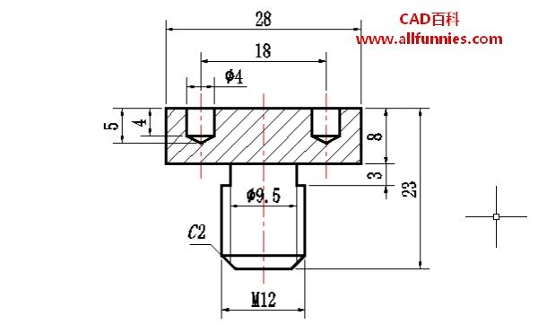 CAD延伸命令快捷键(球头螺栓怎么画)