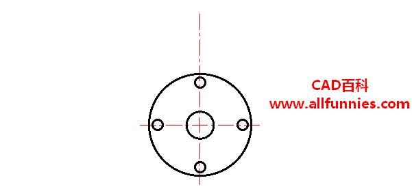 CAD打断命令快捷键(如何使用打断命令将过长的中心线删除)