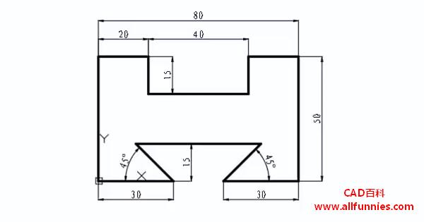 CAD角度标注快捷键命令(怎么对燕尾槽进行角度尺寸的标注)