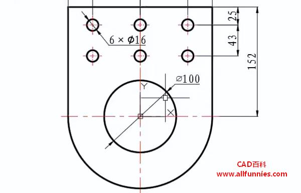 CAD直径/半径标注快捷键命令(怎么标注连接板直径或者半径尺寸)